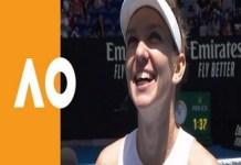 Tenis : Simona Halep s-a calificat, luni dimineata, in sferturile de finala de la Australian Open.