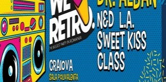 We Love Retro, cel mai mare retro party din Romania revine la Craiova. 22 mai, Sala Polivalenta.