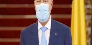 Iohannis anunta ca masca de protectie devine obligatorie, dupa 15 mai, in spatiile inchise si in transportul in comun
