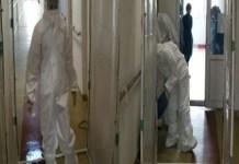 Poarta de dezinfectare pentru cadrele medicale ale Spitalului -Victor Babes din Craiova ! Fabrica de fericire- Impreuna in lupta cu Covid-19