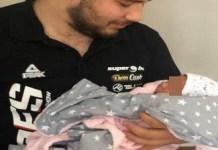 Tancul Olteniei este tatic ! Sotia lui Iancu Alin Ionut a nascut o fetita ..