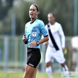Interviu cu craioveanca Alina Pesu , Arbitru FIFA : Mi-a fost indeplinit visul de a fi arbitru FIFA, lucru pe care l-am vrut de cand am ales acest drum