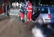 Accident mortal in Melinesti noaptea trecuta .. Un om a MURIT si alti doi sunt in stare GRAVA