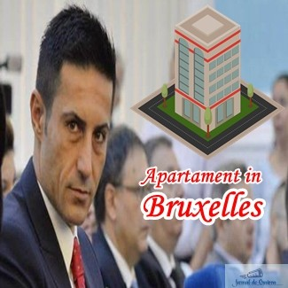 Claudiu Manda ,cel mai slab europarlamentar roman, si-a luat apartament in Bruxelles .