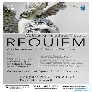 Opera Romana Craiova : Requiem, pe scena Teatrului de Vara