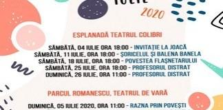 Teatrul Colibri continuă Stagiunea estivală cu spectacolul Șoricelul și Balena Banela