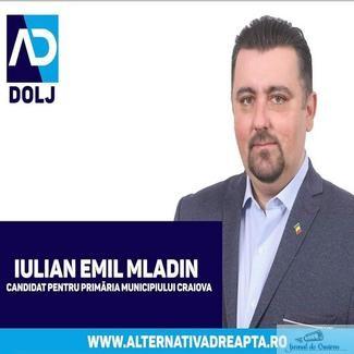 Mladin Emil Iulian , Presedinte Alternativa Dreapta Dolj : Partidul Alternativa Dreapta, nu este de acord cu limitarea drepturilor omului, de niciun fel!