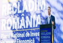 Recladim Romania - Presedintelui Romaniei, Klaus Iohannis, anunta un nou inceput: Sa turam motoarele. Guvernarile anterioare nu au lasat resurse economice si sanitare suficiente