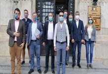 Alianța USR PLUS a depus astăzi semnăturile necesare candidaturii pentru Primăria și Consiliul Local Craiova