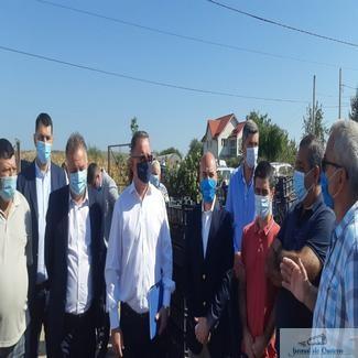 Ministrul Agriculturii şi Dezvoltării Rurale, Adrian Oros a vizitat impreuna cu conducerea PNL Dolj mai multe localitati din judetul Dolj
