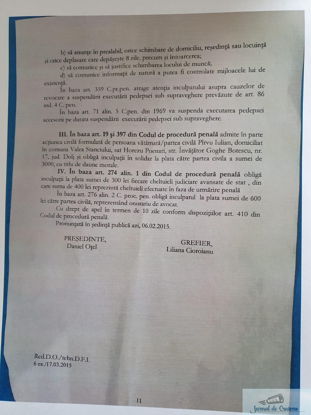"TSD promoveaza un ""tanar"" condamnat la 2 ani cu suspendare .. 3"