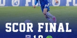 Fotbal : Universitatea Craiova castiga impotriva echipei METALOGLOBUS BUCUREȘTI.. Dan Vasilica dedica victoria lui Adrian Mititelu !