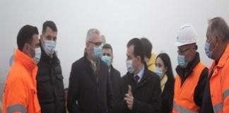 Ludovic Orban in vizita la santierul Drumului Expres Craiova-Piteşti: Sunt optimist ca lucrarile se vor termina inainte de termenul prevazut in contract!