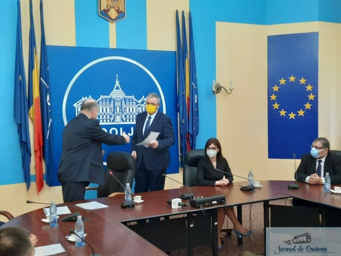 Senatorii si deputatii de Dolj si-au primit certificatele de parlamentari 2