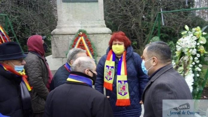PNL Dolj a depus o coroană de flori în memoria eroilor Revolutiei din 1989 1
