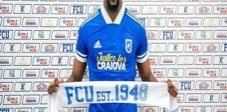 Fotbal : Universitatea Craiova a efectuat primul transfer .. Arsene Luboya a semnat pentru Stiinta !