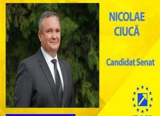 Nicolae Ciuca : Cu votul tau poti trimite in Parlament politicieni dedicati, cu pregatire, sinceri si corecti!