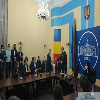 Senatorii si deputatii de Dolj si-au primit certificatele de parlamentari