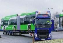 Olguta Vasilescu se lauda cu primul autobuz electric cumparat de Primaria Craiova