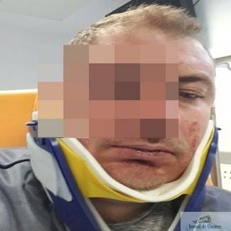 Foto : Carna a devenit Vestul Salbatic ! Doi membri PSD fac legea cu pumnul ..