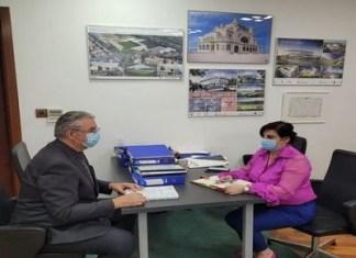 Nicolae Giugea ,in vizita la CNI : Am discutat despre stadiul investițiilor pe care Compania le desfășoară în Dolj.