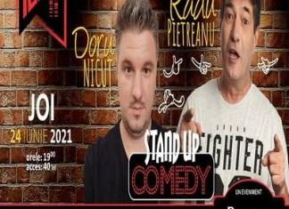 Stand-up comedy cu Radu Pietreanu și Doru Nicuț la Cafe-Teatru Play