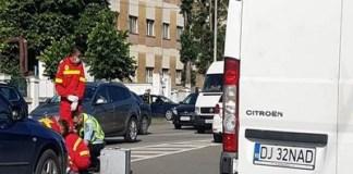 Femeie lovită de mașină pe o trecere pentru pietoni, în Craiova