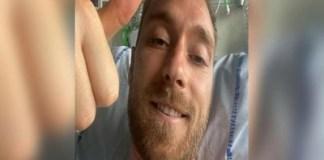 Prima imagine cu Christian Eriksen din spital. Ce le transmite fotbalistul fanilor!