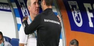 Duelul dintre Adrian Mutu si Gheorghe Hagi s-a incheiat cu o remiza. Inca o partida in care arbitrajul a dezavantajat Stiinta ! sursa foto editie.ro