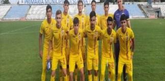 România U18 a încheiat stagiul de pregătire cu o victorie