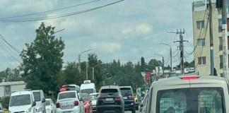 Craiova : Accident în lanț cu patru mașini implicate și patru victime