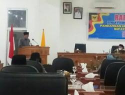Fraksi Demokrat di DPRD Tanah Datar Berikan Pandangan Umum atas Ranperda