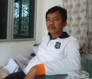 Foto : Bando Damanik, pelaksana tugas sekretaris KPUD Kab. Simalungun