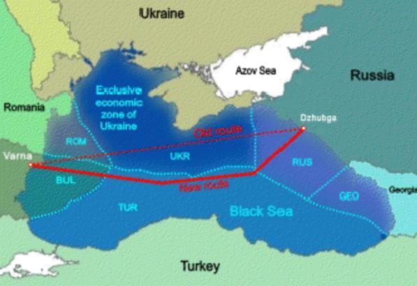 South Stream ocoleşte platoul continental românesc din Marea Neagră