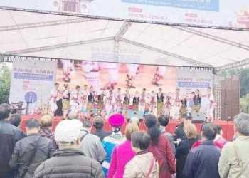 Dansatorii Doinei Bascovului au fost aplaudaţi îndelung în China 12