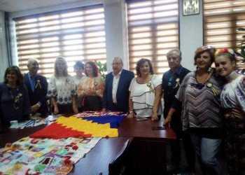 Delegație italiană la Bascov 5