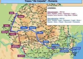 autostrada Pitești - Sibiu, tronsonul 3 - Cornetu-Tigveni, parte a Coridorului 4 EUROPEAN