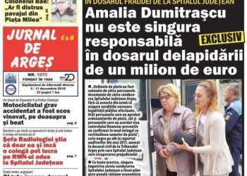"""Alo, DIICOT! Ce se aude cu dosarul contabilei care a delapidat aproape 1 milion euro de la Spitalul Judeţean? Managerul Adriana Molfea: """"Este un dosar penal, care văd că stagnează. Nu ştiu de ce nu înaintează deloc"""" 2"""