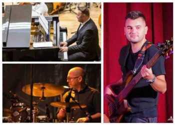 Debutul Grupului Trio Jazz&Pop Pitești în primul concert de jazz și pop al Filarmonicii Pitești 6