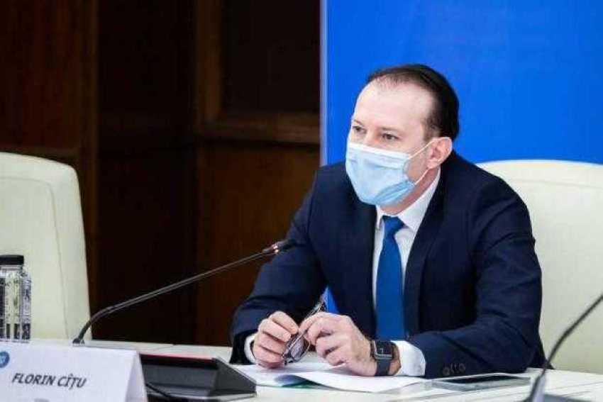 Premierul Cîţu prezintă Planul Naţional de Redresare şi Rezilienţă 1
