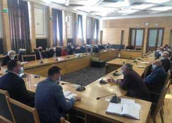 Primarul Cristian Gentea - ședință de lucru cu reprezentanții mediului de afaceri din Pitești 4
