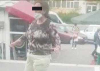 O femeie cunoscută cu afecțiuni psiihice, din nou pe stradă 2