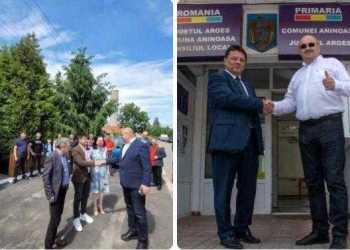 Ion Mînzînă susține candidații pentru funcția de primar la Rociu și Aninoasa 5