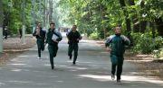 Echipajul din Brănești, la proba de traseu forestier