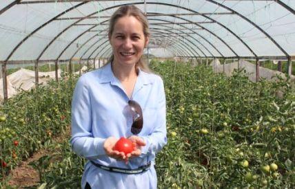 Georgiana Ene, directorul DAJ Ilfov, îi sfătuiește pe fermieri să înființeze cooperative agricole și organizații de producători