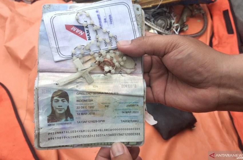 Kalung Rosario, Cincin dan Paspor Pramugari Sriwijaya Air SJ182 Ditemukan Tim Kopaska