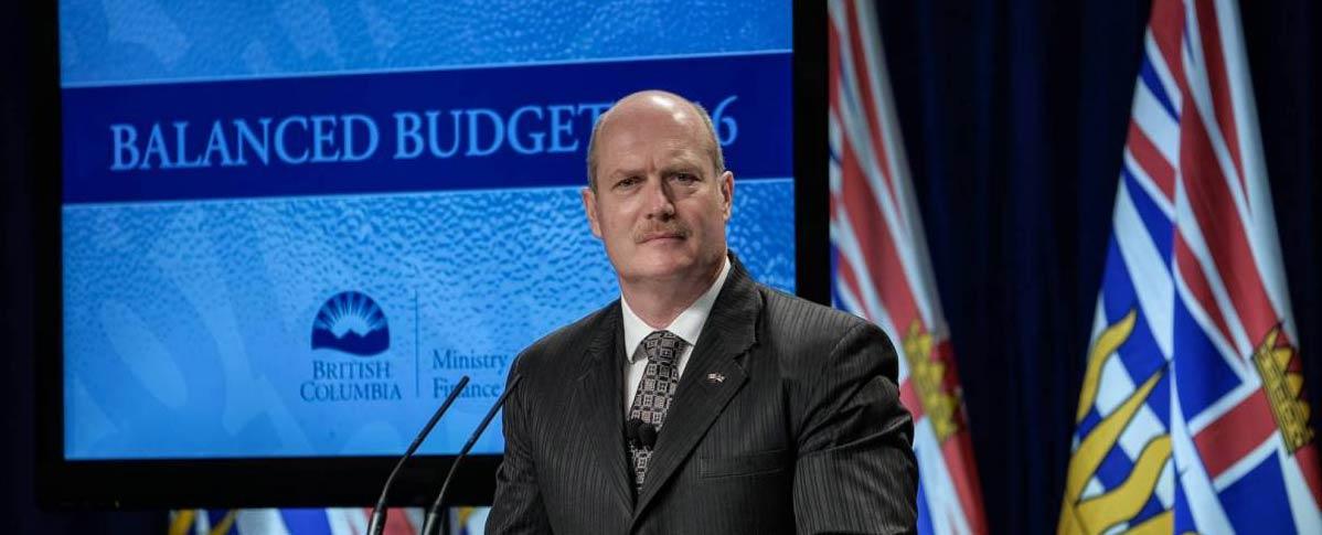 BC Minister Michael de Jong