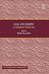Legal lexicography, legal dictionaries and legal translation