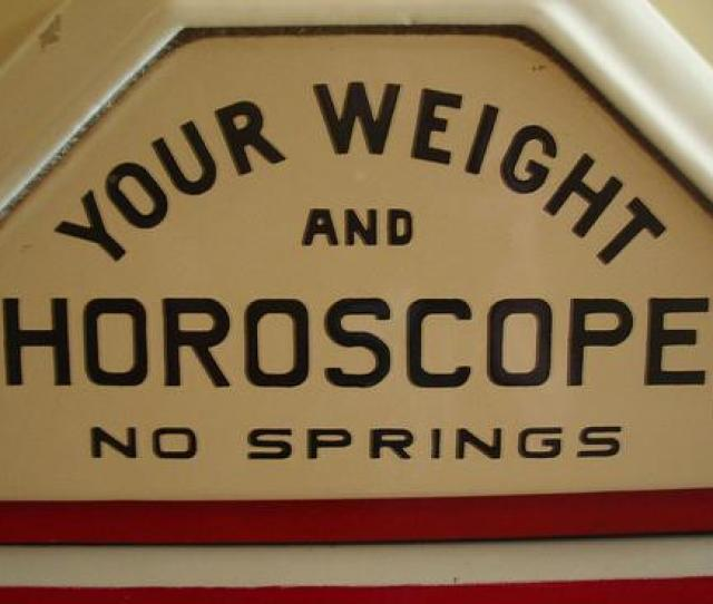Your Weight And Horoscope By Bb