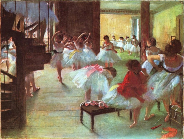 Ballet School by Edgar Degas